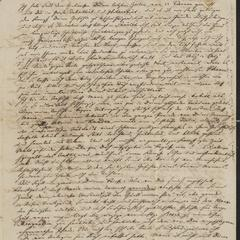 [Letter from Karl Sternberger to his brother, Jakob Sternberger, May 9,1853]