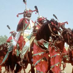 Emir's Palace Guard at Big Sallah Celebration