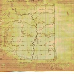 [Public Land Survey System map: Wisconsin Township 24 North, Range 13 East]