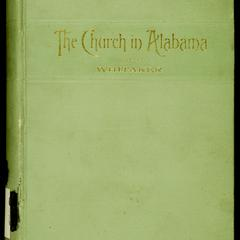 History of the Protestant Episcopal Church in Alabama, 1763-1891