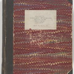 University of Wisconsin Science Club scrapbook : 1896-1917