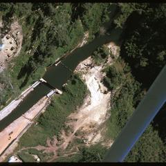 Dam, air views
