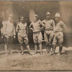 Eckman, Harris, Montgomery, Bruner, ?, Hale