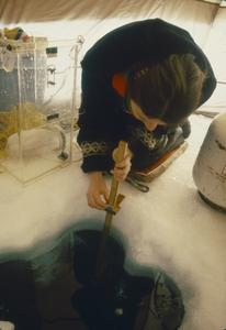 Winter water sampling North Temperate Lakes Long Term Ecological Research (LTER) (5)