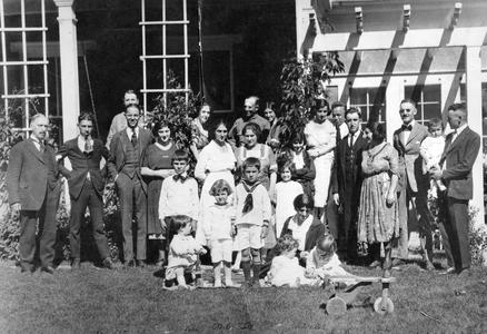 Alfred M. Bergere and Family