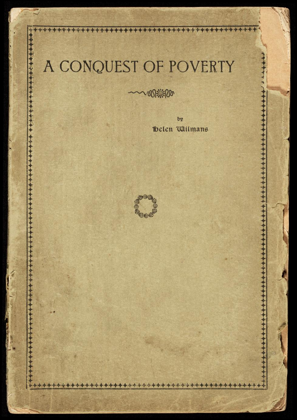 A conquest of poverty (1 of 2)