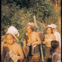 Tai Lu women near river