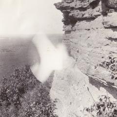 Cliff on Saddle Mound