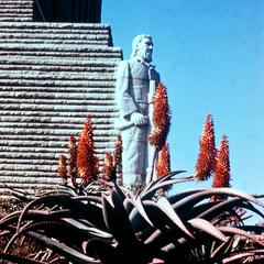 Statue in Voortrekker Monument to Honor the Boers Trek across South Africa