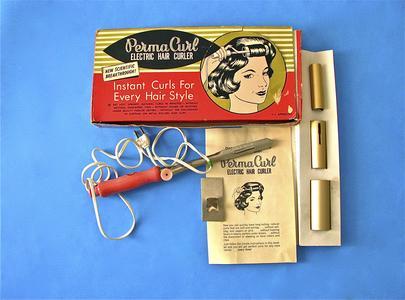 Perma Curl electric hair curler