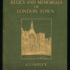 Relics & memorials of London town