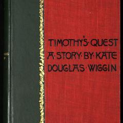 Timothy's quest : a story for anybody, young or old, who cares to read it
