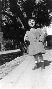 Starker on his third birthday
