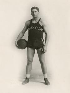 Early basketball player