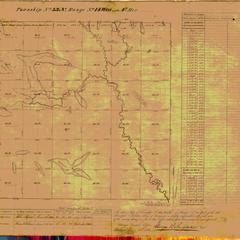 [Public Land Survey System map: Wisconsin Township 33 North, Range 14 West]