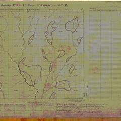 [Public Land Survey System map: Wisconsin Township 32 North, Range 03 East]