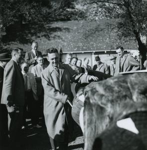 Phi Omega Beta party, Bob Rudiger, Homecoming October 1959