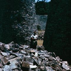 The Conical Tower at Great Zimbabwe
