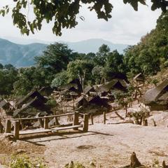 Akha village of Sobloi in Houa Khong Province