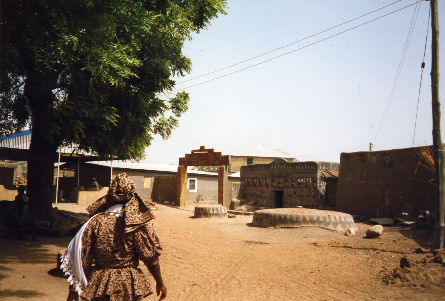 Entrance to Paga Pios Palace