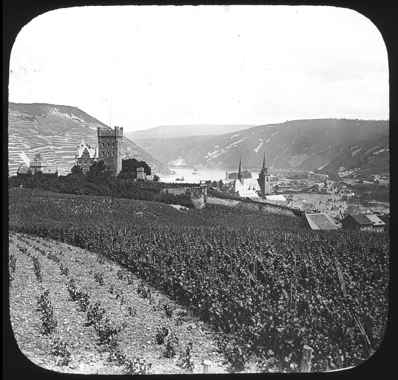 Castle Klopp - at Bingham [sic] on the Rhine