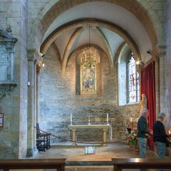 Tewkesbury Abbey east side of south transept