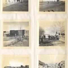 Town/truck scenes from Chihuahua wilderness, January 1938