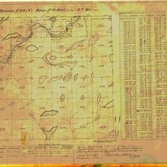[Public Land Survey System map: Wisconsin Township 36 North, Range 04 West]