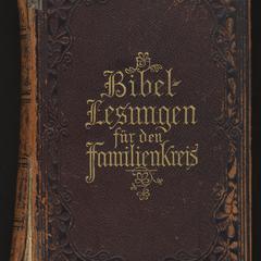 Bibellesungen für den Familienkreis