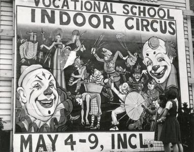 Vocational School Indoor Circus poster