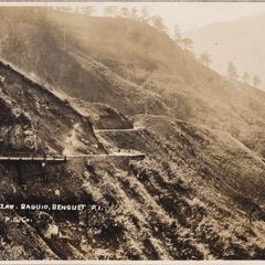 The zigzag, Baguio, Benguet, P.I., P.S.Co.