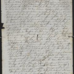 [Letter from Jakob Sternberger to his family, November 1850]