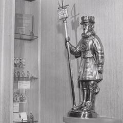 Beefeaters statue