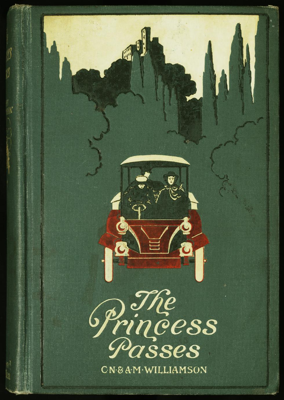 The princess passes : a romance of a motor : with sixteen illustrations