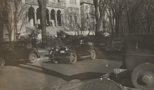 Old cars on Langdon Street
