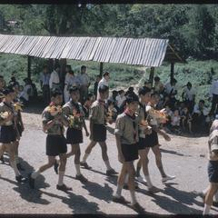 2500th Anniversary of Buddhism : boy scouts