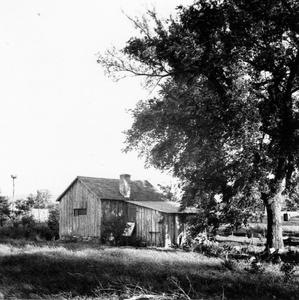 View of shack from northwest