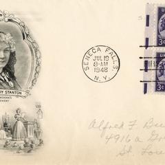 Elizabeth Cady Stanton envelope
