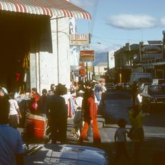 Market and street, Guatemala City