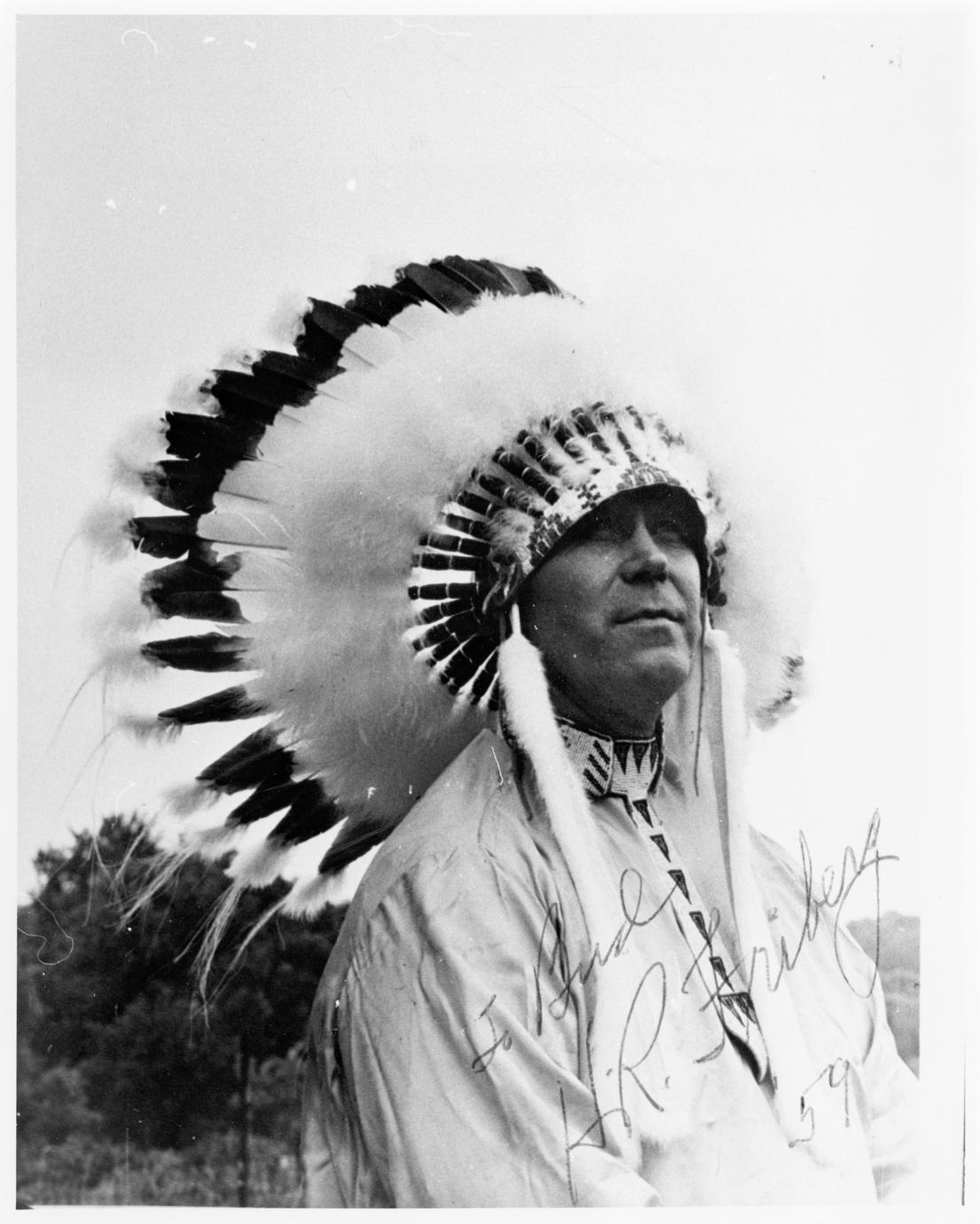 Indian headdress-maker