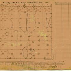 [Public Land Survey System map: Wisconsin Township 13 North, Range 22 East]