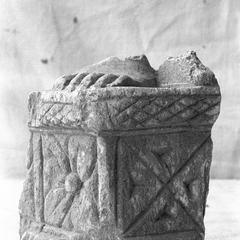 NG213, Pedestal with Foot of an Image