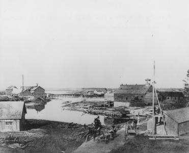 West Twin River in 1890