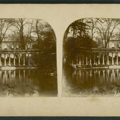 Le colonnade du Park Monceau, Paris
