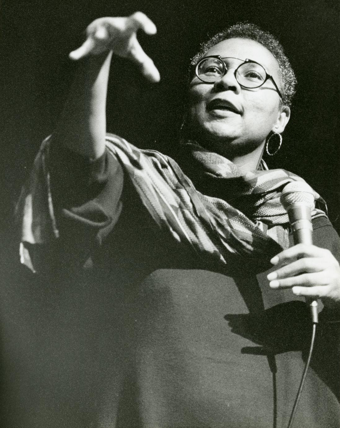 bell hooks speaking