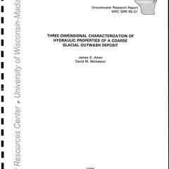 Three-dimensional characterization of hydraulic properties of a coarse glacial outwash deposit