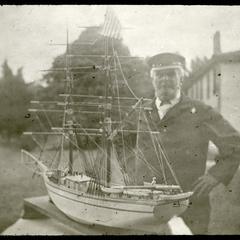 Captain Robert Symmonds - model sail vessel