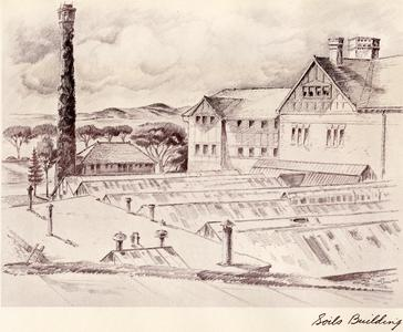Sketch of King Hall