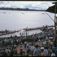 Boat races : stand and crowd