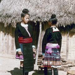 Blue Hmong (Hmong Njua) in Houa Khong Province